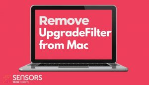 remove UpgradeFilter mac virus sensorstechforum removal guide