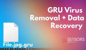 remove gru virus sensorstechforum ransomware removal guide