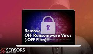 rimuovere il virus ransomware ripristinare i file