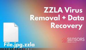 remove zzla virus files sensorstechforum ransomware removal guide