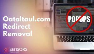 Oataltaul.com Redirect Removal Guide SensorsTechForum