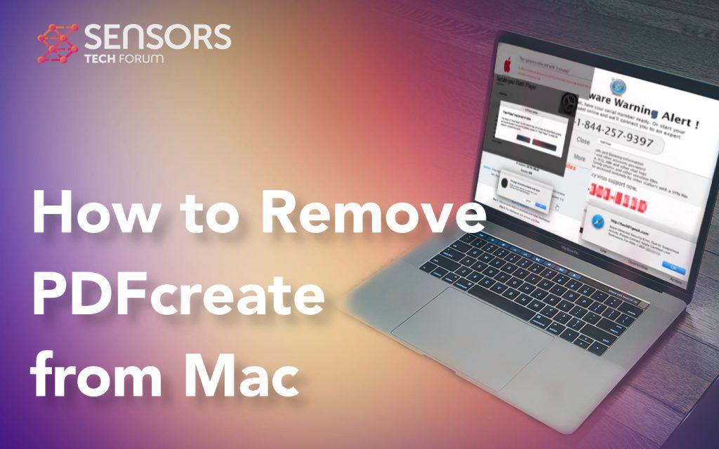 PDFcreate Removal Mac