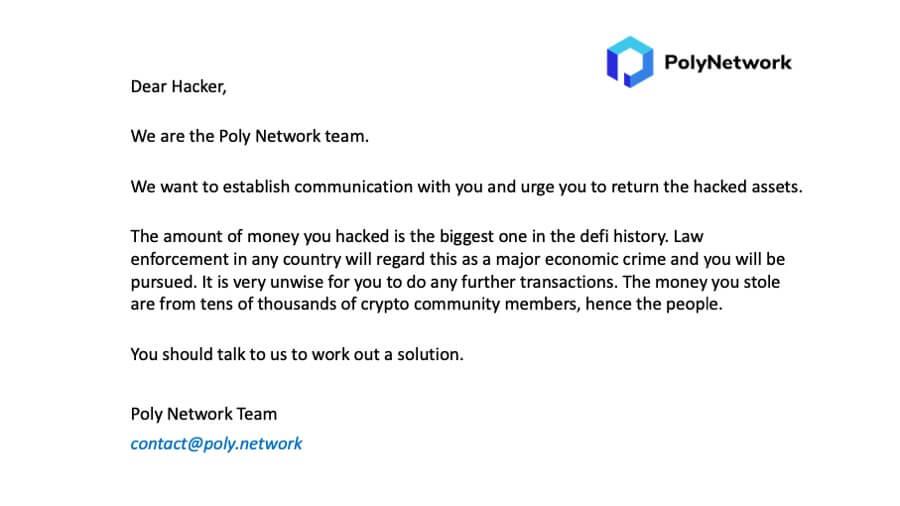 poly network attack-sensorstechforum