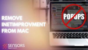 remove InetImprovment mac virus sensorstechforum guide