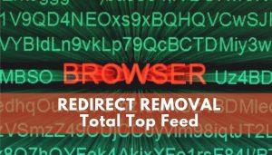 remove Total Top Feed redirect virus sensorstechforum guide