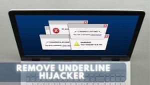 remove Underline browser Hijacker sensorstechforum