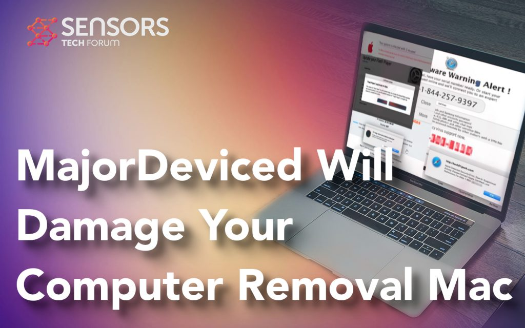 MajorDeviced Will Damage Your Computer Mac