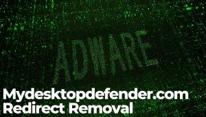 Mydesktopdefender-com-Redirect Removal-sensorstechforum