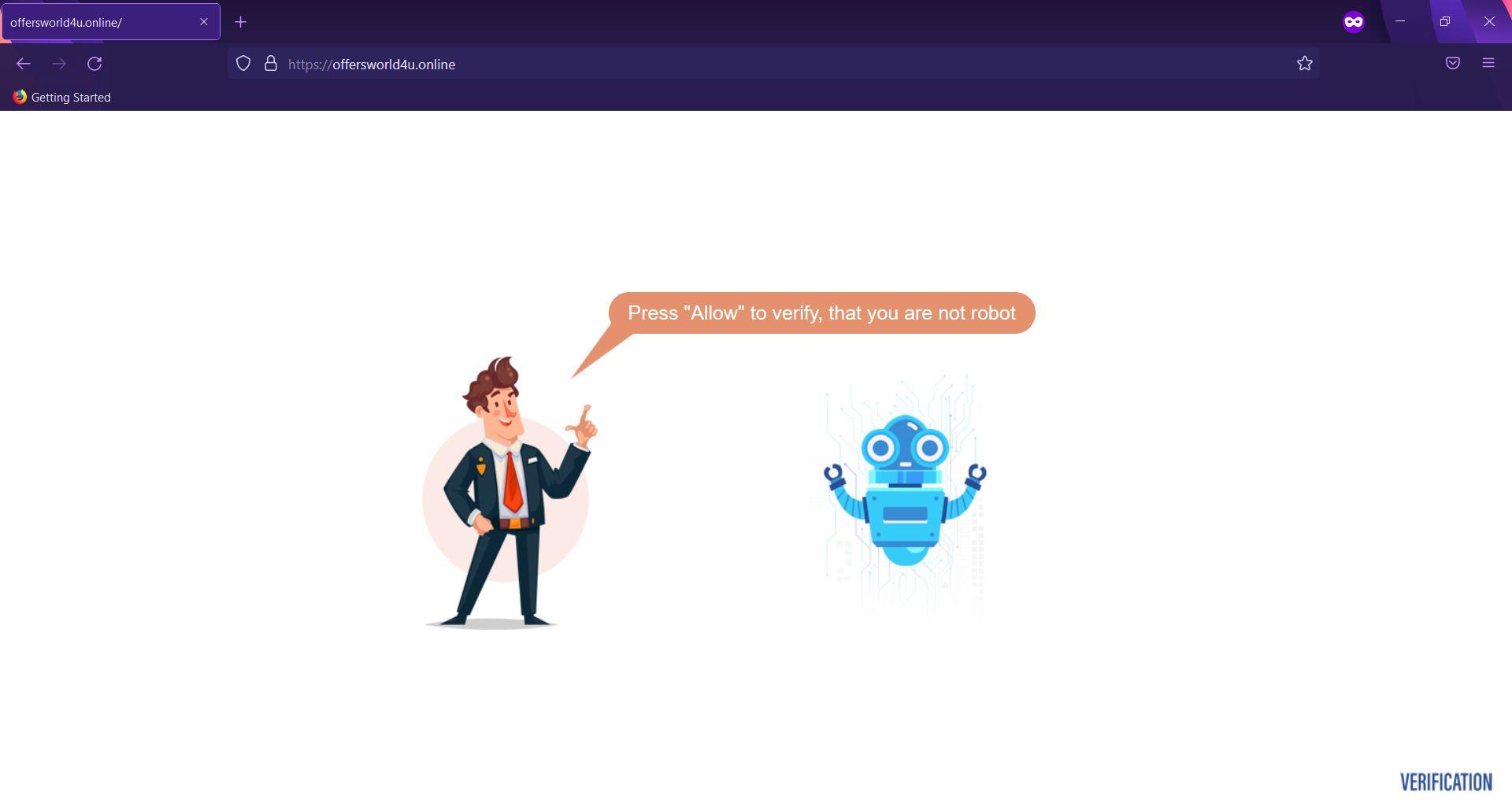 Offersworld4u.online redirect removal guide sensorstechforum