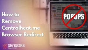 Remove Centralheat.me Browser Redirect
