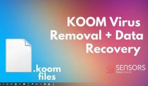 koom virus files sensorstechforum ransomware removal guide