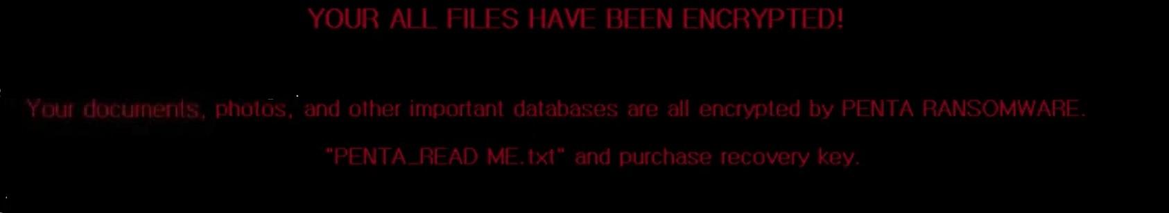 penta ransomware desktop wallpaper