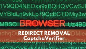 remove CaptchaVerifier redirect virus sensorstechorum guide