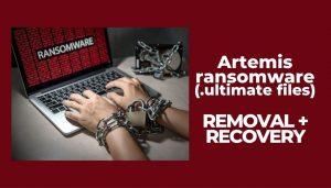 remove artemis ransomware ultimate virus files sensorstechforum guide