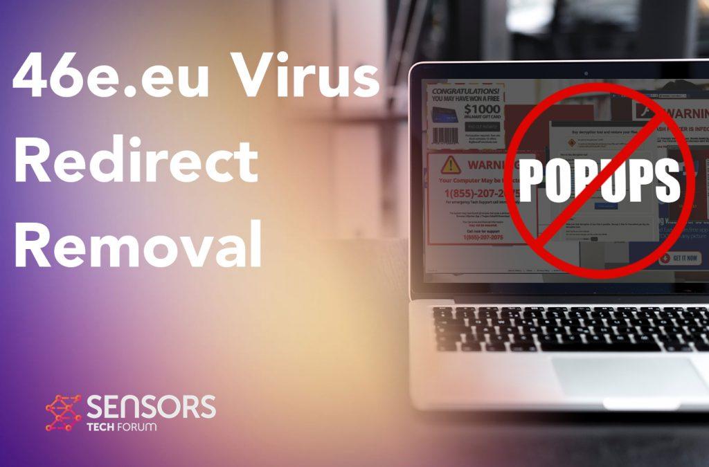 46e.eu Virus Redirect Removal