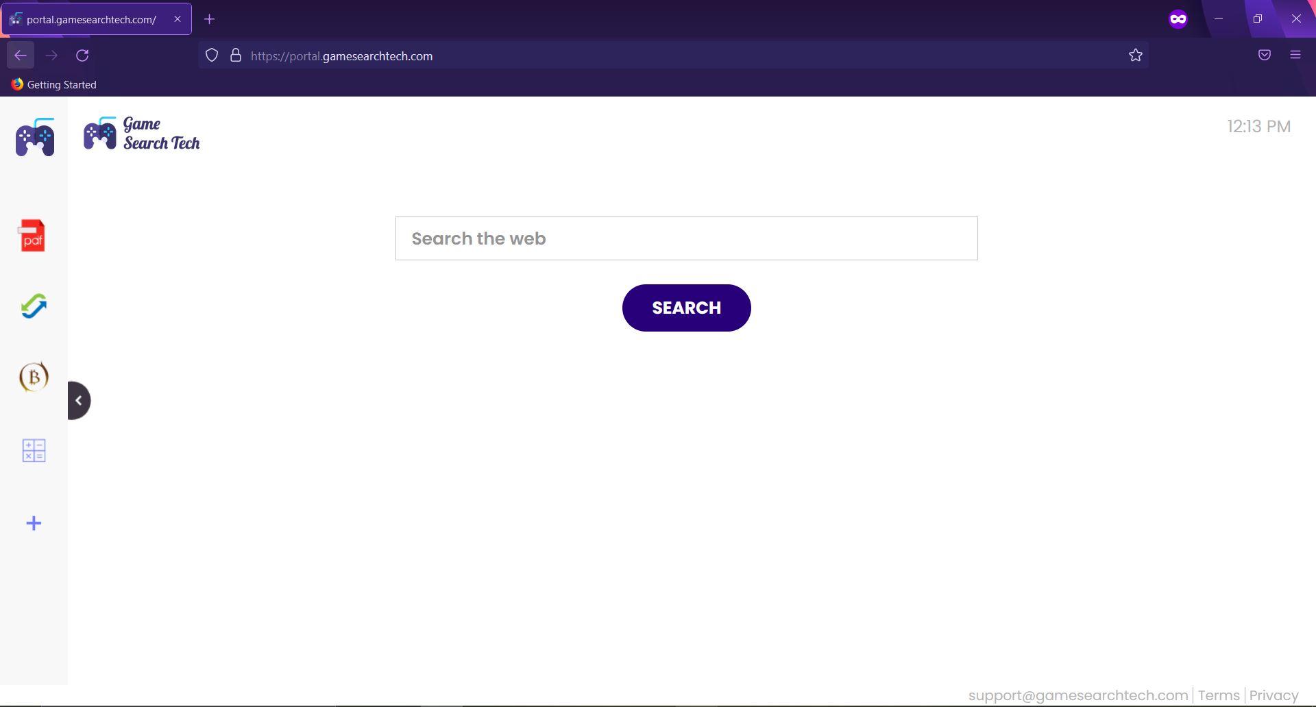 remove GameSearchTech redirect removal guide sensorstechforum