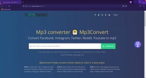 Mp3convert.cc Redirect Ads in FireFox Browser