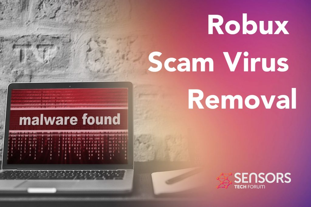 Robux Scam Virus Removal