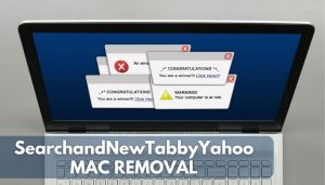 how to remove SearchandNewTabbyYahoo from macos sensorstechforum