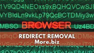 remove More.biz redirect ads sensorstechforum